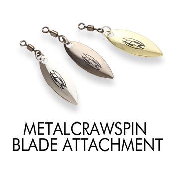 METALCRAWSPIN BLADE ATTACHMENT