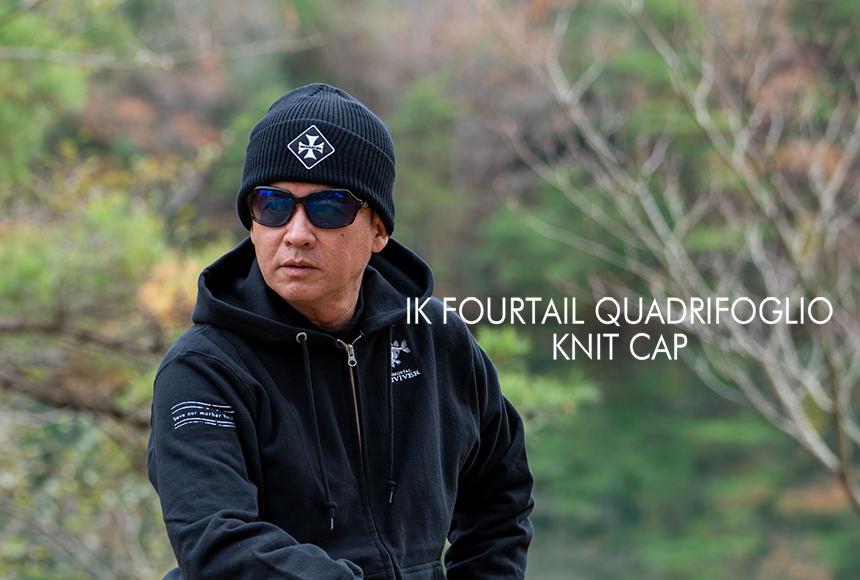 IK FOURTAIL QUADRIFOGLIO KNIT CAP
