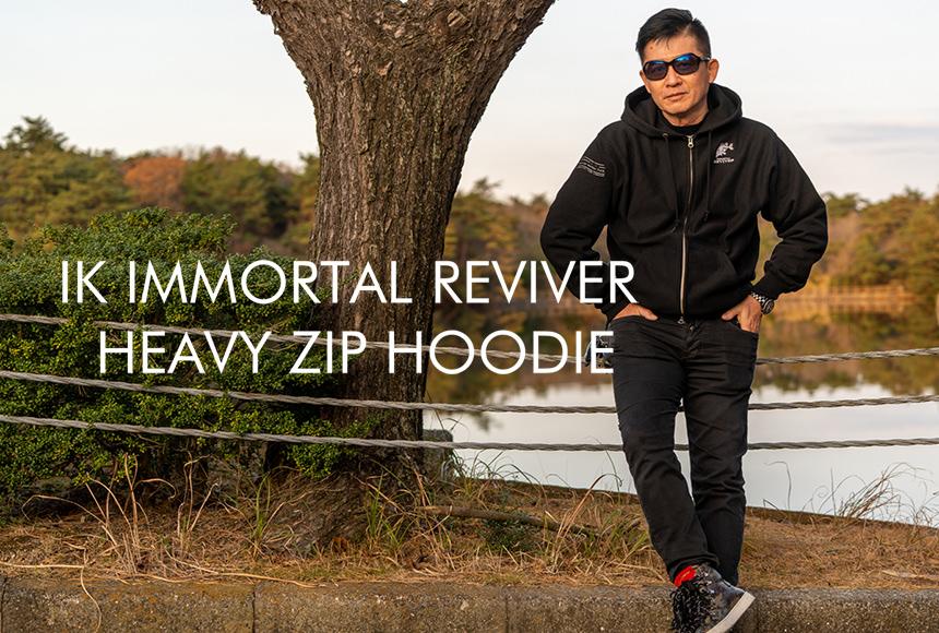 IK IMMORTAL REVIVER HEAVY ZIP HOODIE