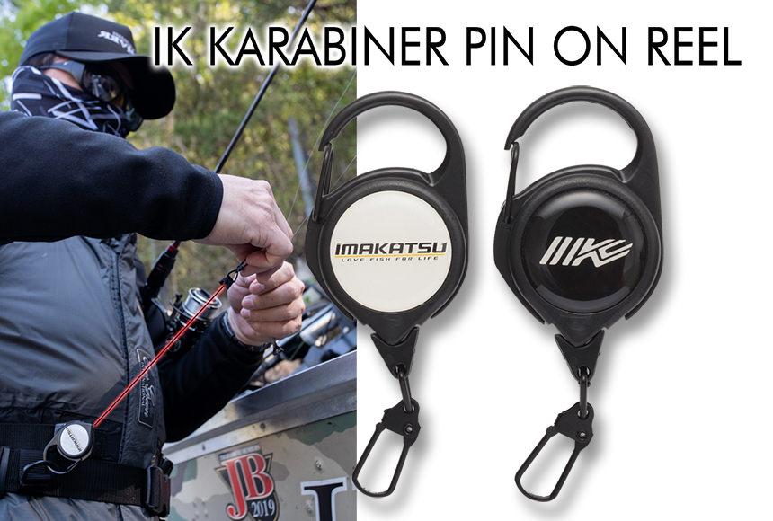 IK KARABINER PIN ON REELS