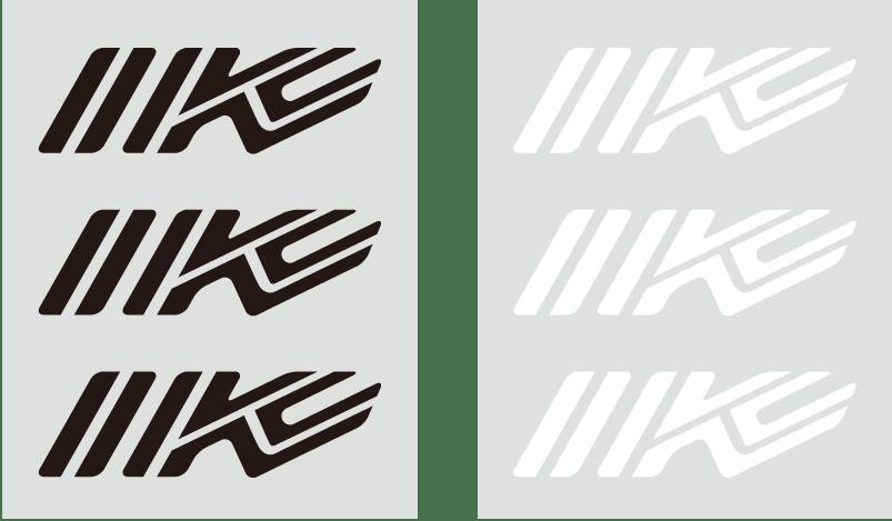 IK-906 IK カッティングステッカーS